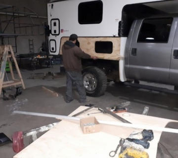 The last modifications of our first chiloé camper